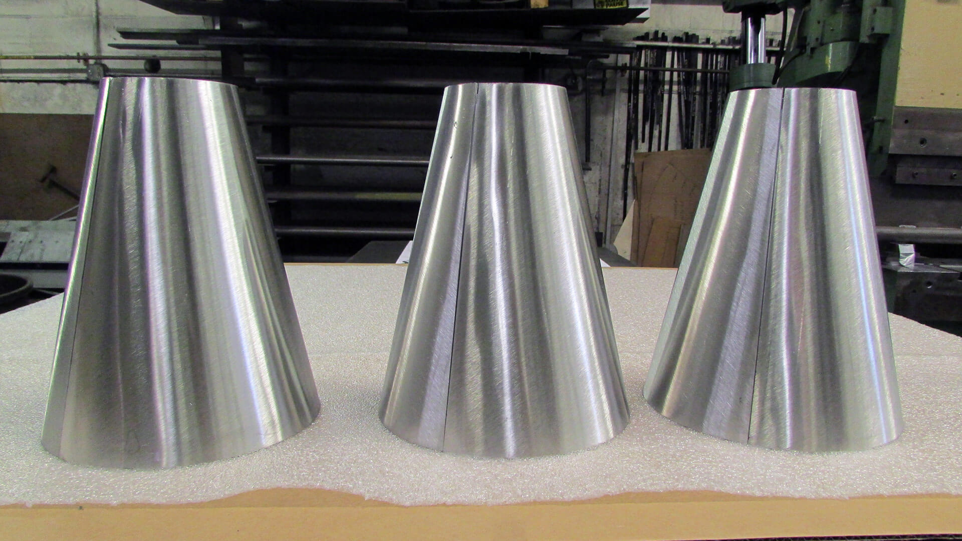 Cone Fabrication and Polishing