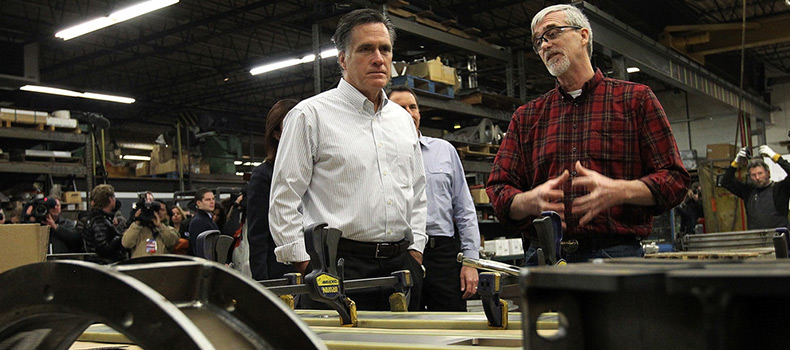 Romney to Make NH Primary Campaign Stop at Gilchrist Metal Fabricating Company